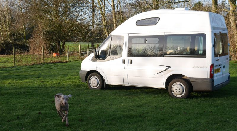Raydon Hall has five campervan spaces all with electric hook up