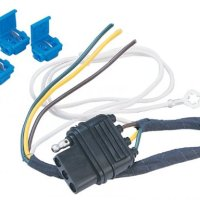 Hopkins 41225 LiteMate Vehicle to Trailer Wiring Kit (Hardwire) (Pico 6764PT) 1995-2002 Chevrolet Blazer and GMC Jimmy (Downsize), 1995-2001 GMC Envoy, 1995-2005 Chevrolet Astro Van and GMC Safari, 1996-2001 Oldsmobile Bravada