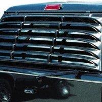Willpak Industries 2029 ABS Van Rear Window Louver for GMC/Chevrolet