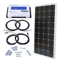 Komaes 100 Watts 12 Volts Monocrystalline Solar Starter Kit