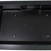 APDTY 91026 Exterior Rear Right Cargo Door Handle w/License Plate Housing Frame Bracket For 1992-2008 Ford Econoline E150 E250 E350 E450 Van (Replaces Ford 6C2Z-15434A20-AA, 6C2Z15434A20AA)