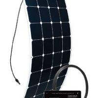 Go Power! (GP-FLEX-100) 100W Flexible Mono Crystalline Solar Kit with 30 Amp PWM Solar Controller