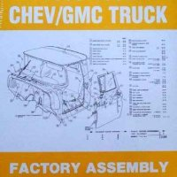 1960-1966 Chevy/GMC Truck Factory Assembly Instruction Manual