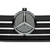 Mercedes Sprinter Van Dodge Radiator Grille Shell Front Screen with Silver Star Begel BG88043