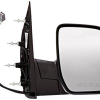 OE Replacement Ford Econoline Van Passenger Side Mirror Outside Rear View (Partslink Number FO1321288)