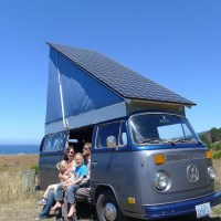 Amazing! Fully Solar Powered Electric VW Bus