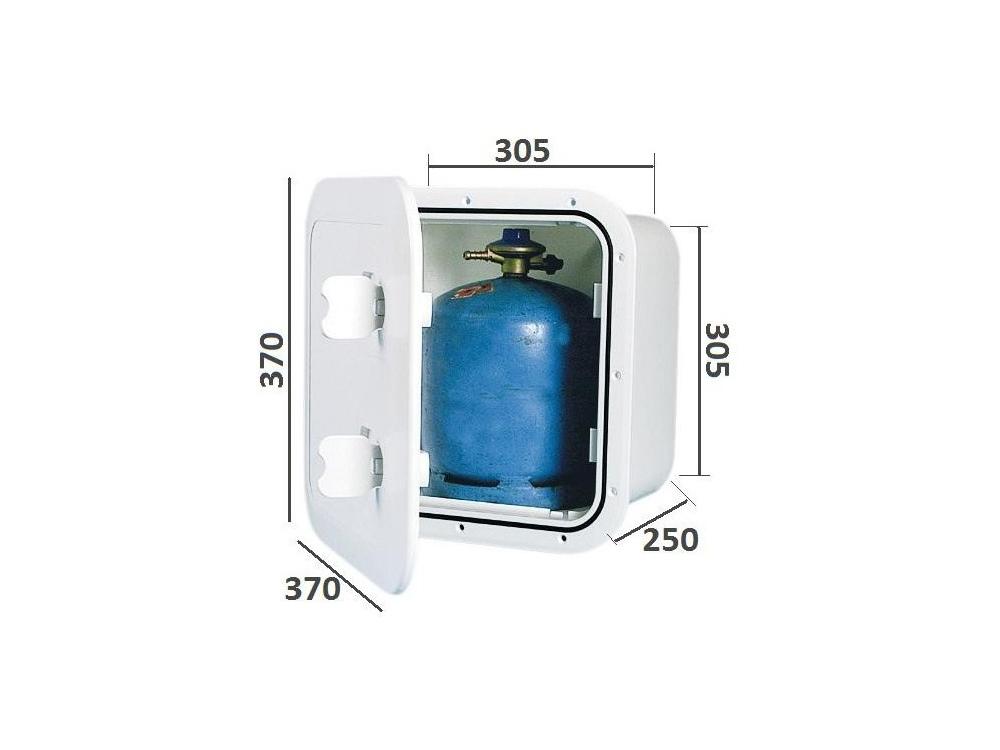 caisson etanche pour bouteille de gaz campingaz