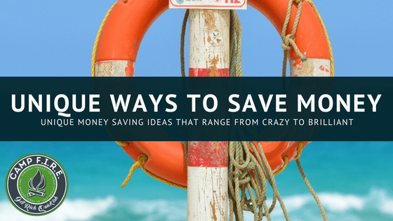 unique ways to save money