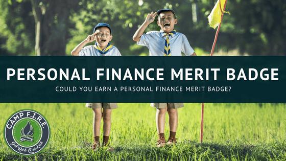 personal finance merit badge