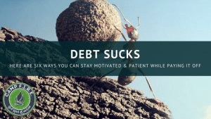 Six Ways to Stay Patient and Motivated While Paying Down Debt