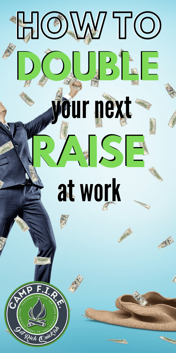 Ever wondered how to get a bigger raise at work? I used this simple trick for the past few years to double the amount of money I'm keeping from my #paycheck. #HowToAskForARaise #HowToGetARaise