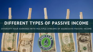 How I'm creating multiple streams of aggressive passive income