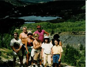 Above Beaver Lake