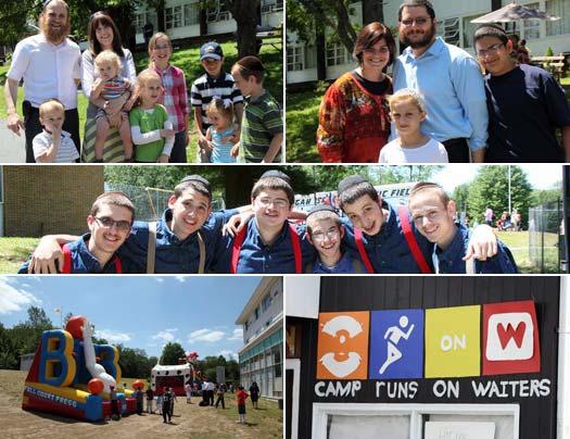 Camp Gan Israel NY visiting day 2011