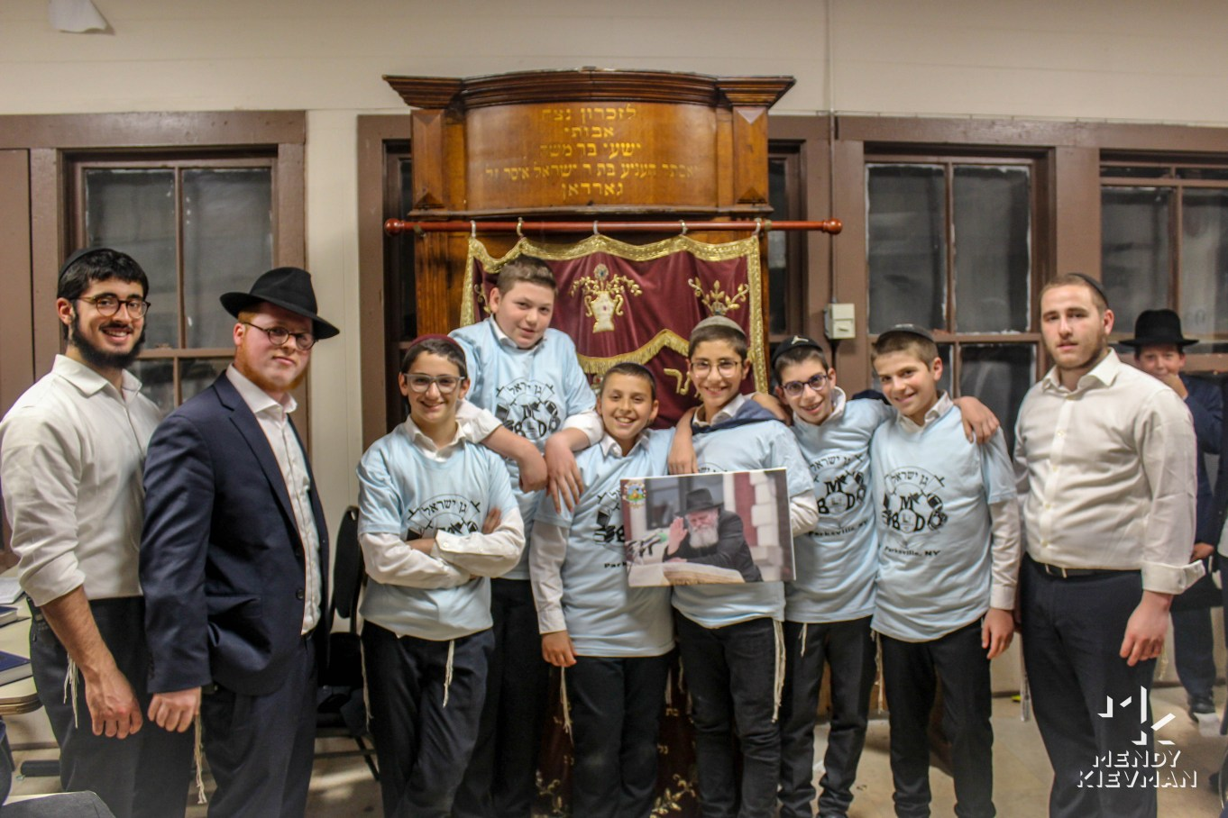 Winners of BMD Shabbos T-shirts
