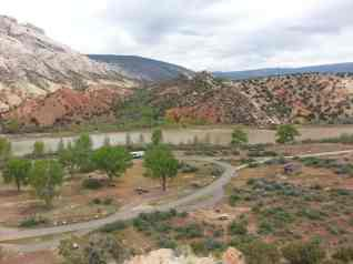 Split Mountain Campground 2