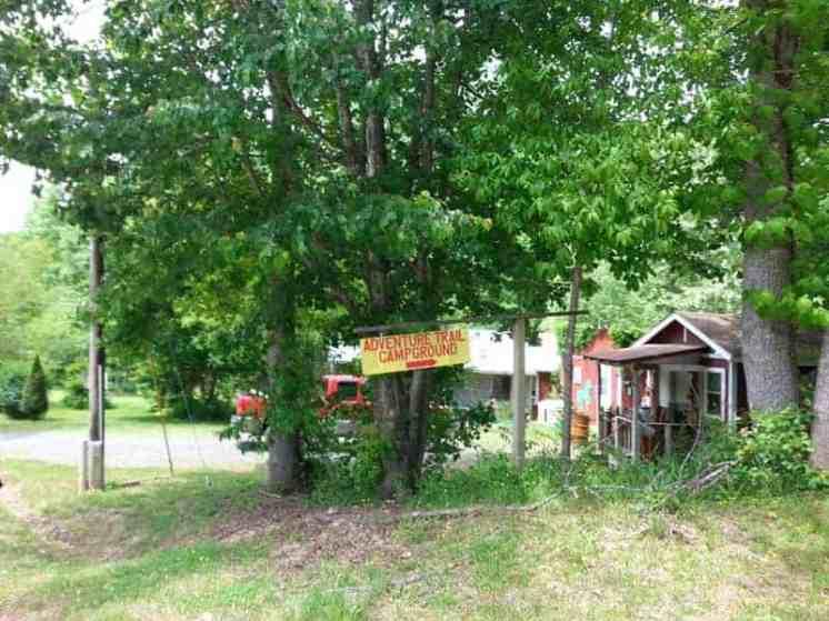 Adventure Trail Campground in Whittier North Carolina