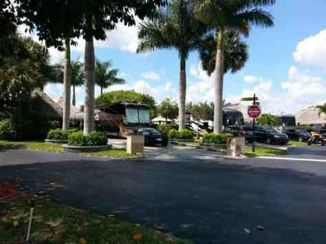 Aztec RV Resort in Margate Florida (greater Pompano Beach area) 2