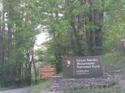 Cataloochee Campground in Great Smoky Mountains National Park near Waynesville North Carolina1