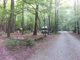 Cataloochee Campground in Great Smoky Mountains National Park near Waynesville North Carolina3