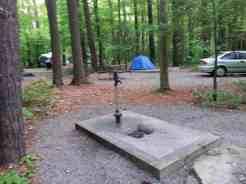 Cataloochee Campground in Great Smoky Mountains National Park near Waynesville North Carolina6