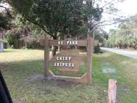 Chief Aripeka Travel Park in Spring Hill Florida1