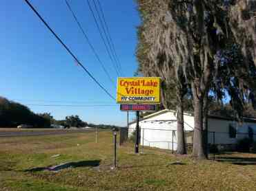 Crystal Lake Mobile Home & RV Village in Wauchula Florida1