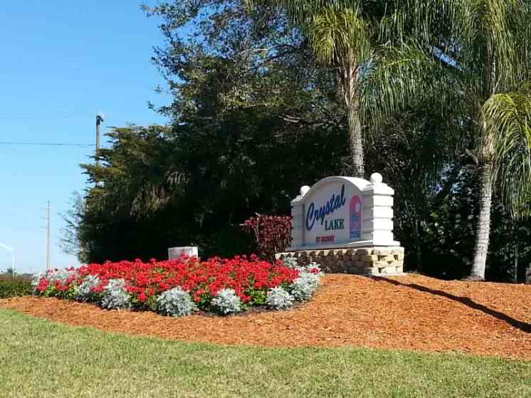 Crystal Lake RV Resort in Naples Florida
