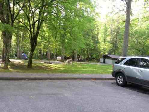 Deep Creek Campground in Great Smoky Mountains National Park near Bryson City North Carolina3