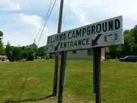 Eljawa Campground and Log Cabins in Whittier North Carolina1