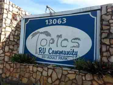 Encore Topics RV Resort in Spring Hill Florida4