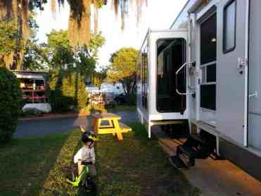 Fleetwood RV Park in Jacksonville Florida 104