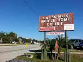 Florida Pines Mobile Home Park in Venice Florida1