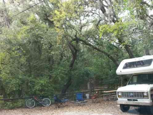 Fort Clinch State Park Amelia River Campground in Fernandina Beach Florida 3