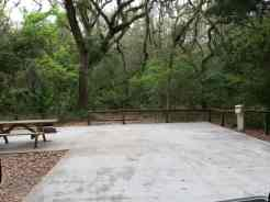 Fort Clinch State Park Amelia River Campground in Fernandina Beach Florida 7
