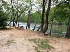 French Broad River Campground in Asheville North Carolina6