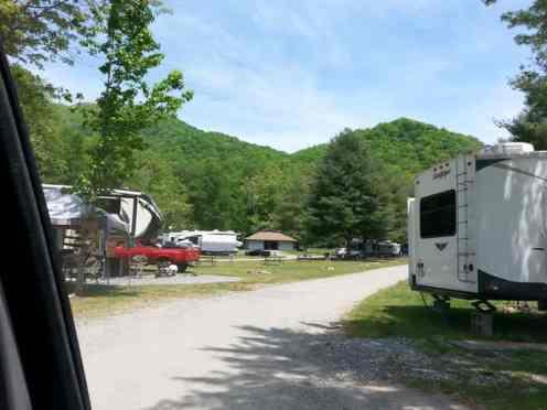 Happy Holiday RV Village in Cherokee North Carolina (Whittier)4
