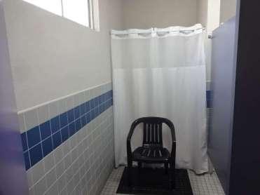 Heritage RV ladies shower
