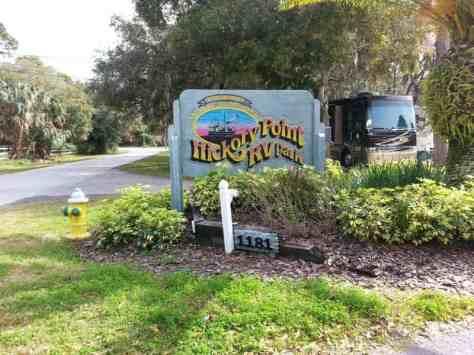 Hickory Point RV Park in Tarpon Springs Florida1