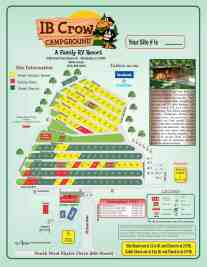 IB Crow Campground Map