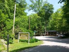 Indian Creek Campground in Cherokee North Carolina1