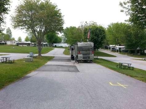 Jaymar Travel Park in Hendersonville North Carolina2