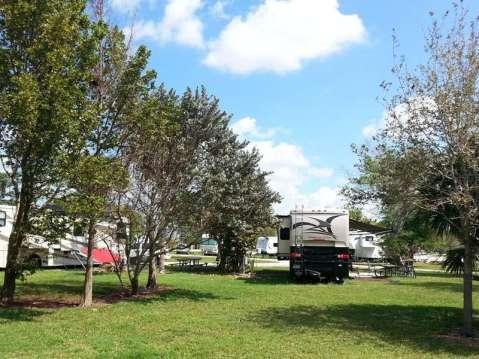 Markham Park Campground Sunrise Florida Rv Park