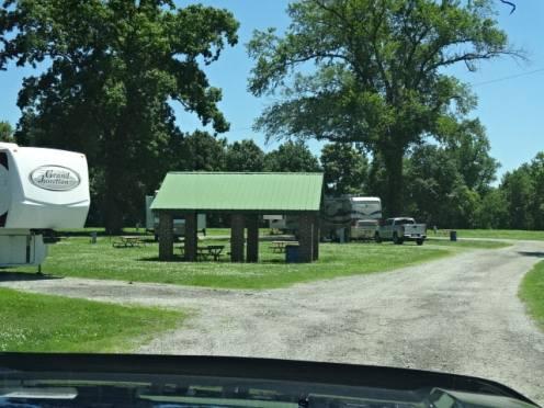 Marvel picnic area