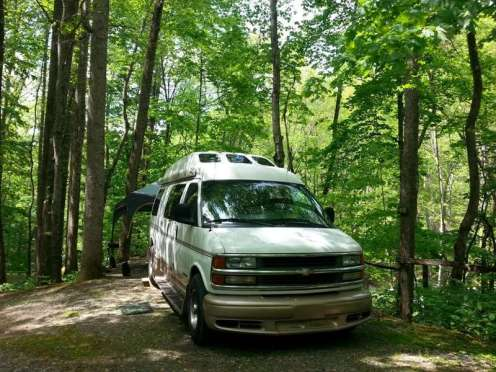 Moonshine Creek Campground in Sylva North Carolina11