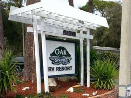 Oak Springs Travel Park in Port Richey Florida2