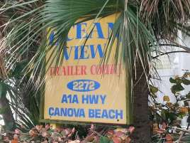 Ocean View RV & Mobile Home Court in Melbourne Florida2