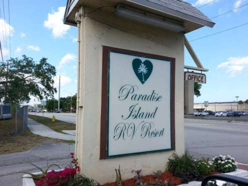 Paradise Island RV Resort in Fort Lauderdale Florida3