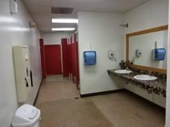 Pine Country ladies restroom
