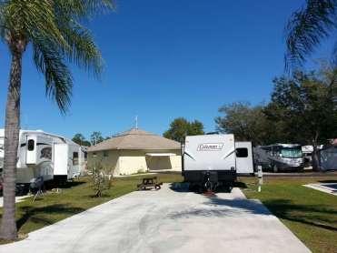Raintree RV Resort in North Fort Myers Florida6